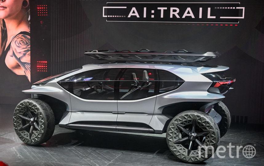 2019 IAA Frankfurt Auto Show. Audi AI:TRAIL. Фото Getty