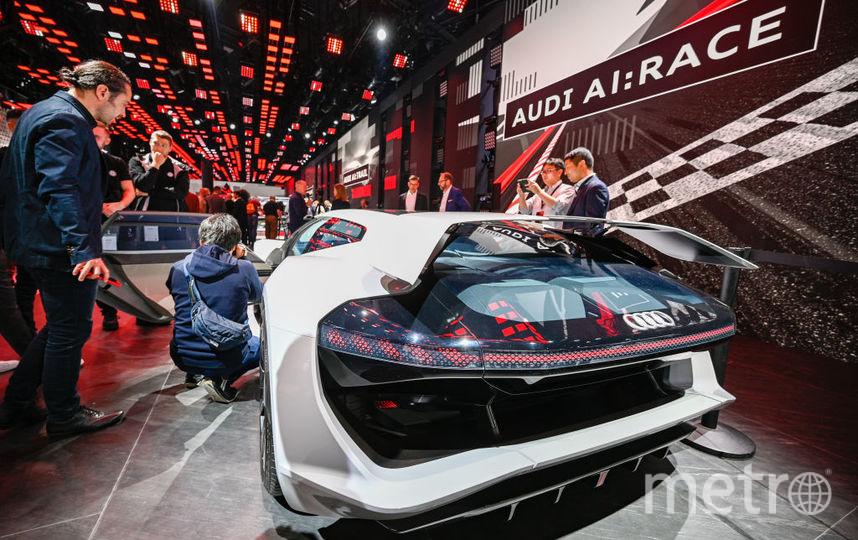 2019 IAA Frankfurt Auto Show. Audi AI:RACE. Фото Getty