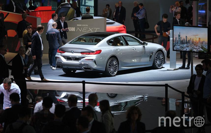 2019 IAA Frankfurt Auto Show. BMW 8. Фото Getty