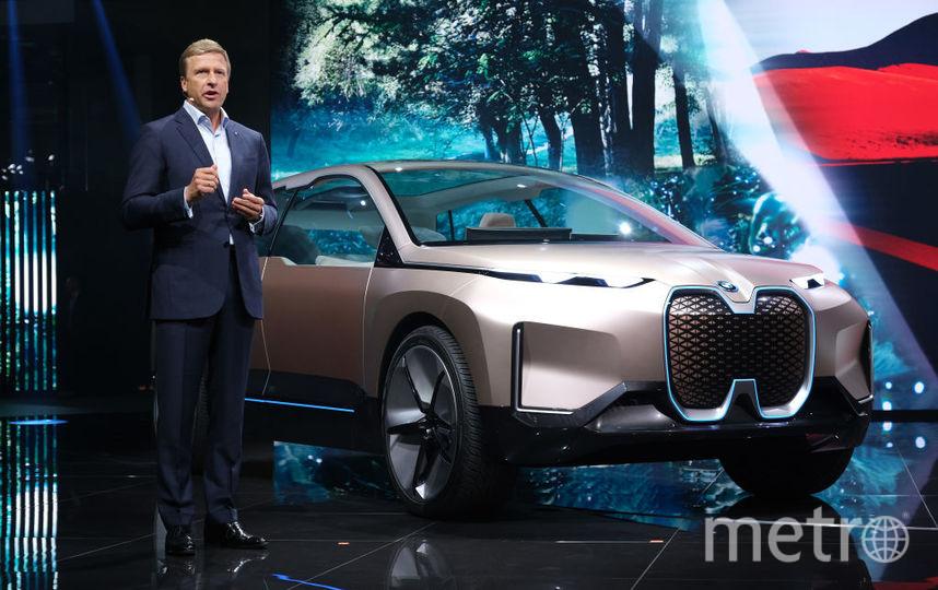 2019 IAA Frankfurt Auto Show. BMW iNEXT concept. Фото Getty