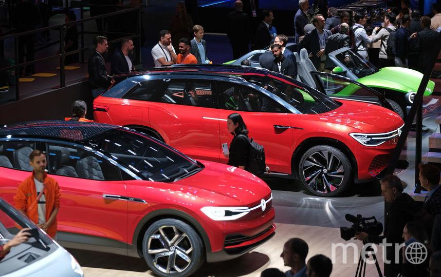 2019 IAA Frankfurt Auto Show. VW ID.3. Фото Getty
