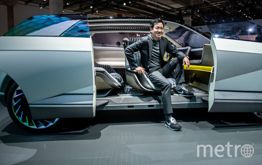2019 IAA Frankfurt Auto Show. Hyundai. Фото Getty