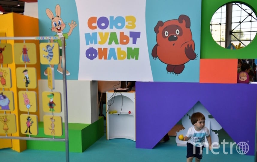 Покажут 83 авторских мультфильма. Фото РИА Новости