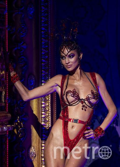 Шоу The Blonds x Moulin Rouge! в рамках Недели моды в Нью-Йорке. Фото AFP