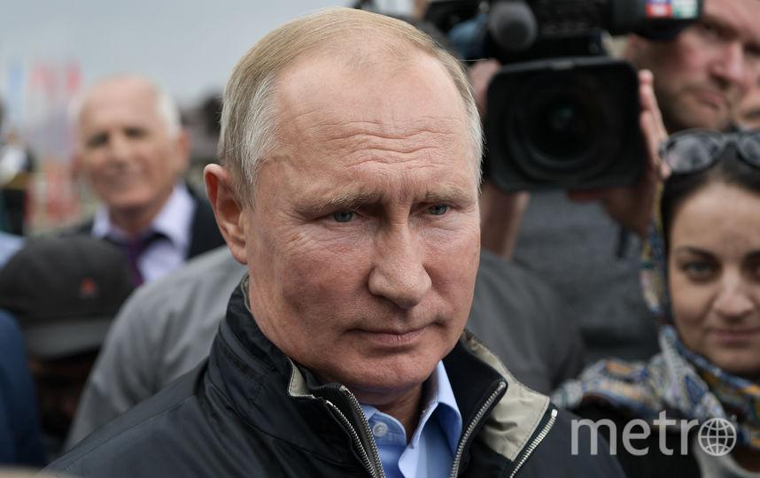 Владимир Путин во время визита в Дагестан. Фото AFP