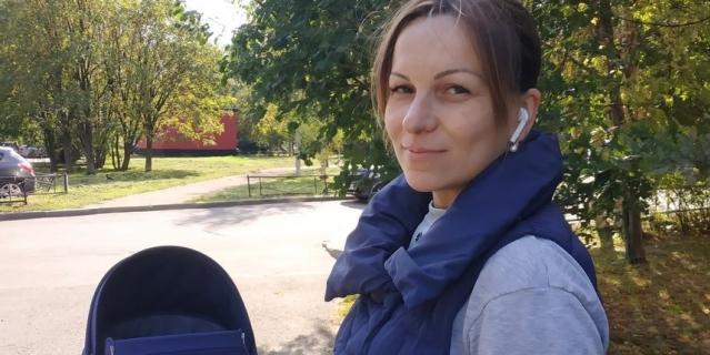 Елена, 36 лет, мама в декрете.