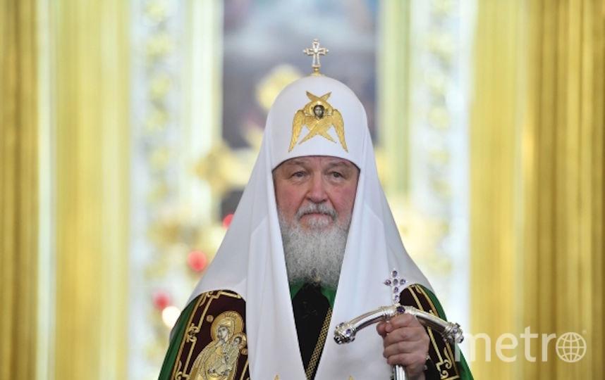 Патриарх Кирилл. Фото РИА Новости