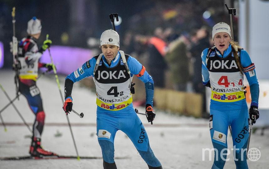 Бьорндален выиграл 8 золотых олимпийских наград, а Домрачева – 4. Фото Getty