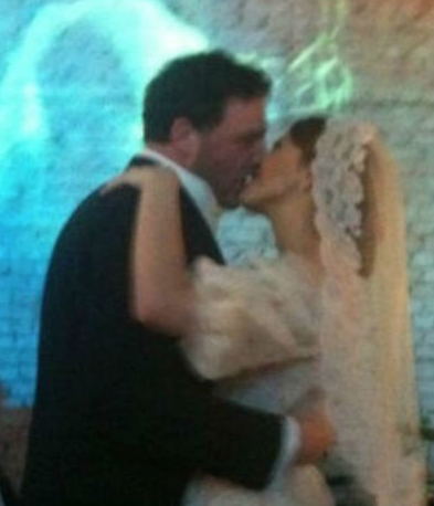 Свадьба Собчак и Виторгана. Фото Скриншот со странички Натальи Ионовой в Twitter