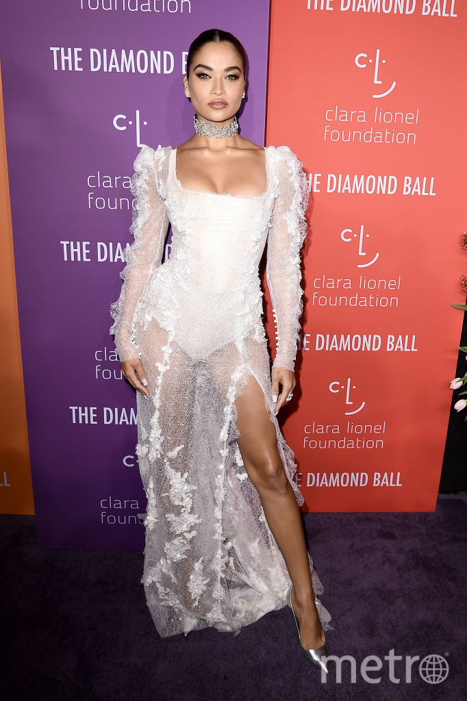 Diamond Ball Рианны. Шианна Шайк. Фото Getty