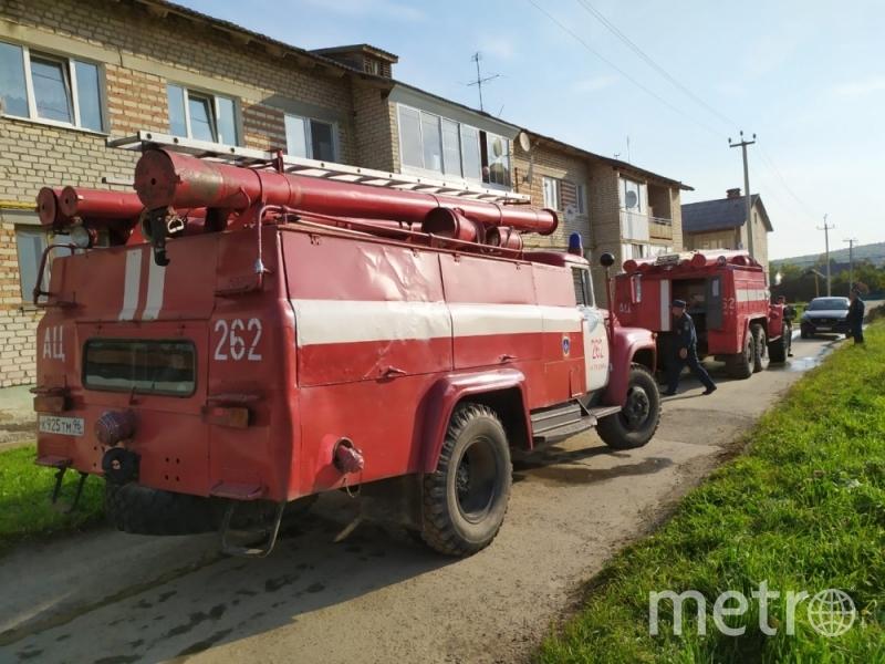 В ликвидации последствий пожара были задействованы 2 единицы спецтехники, 5 человек личного состава. Фото http://66.mchs.gov.ru/