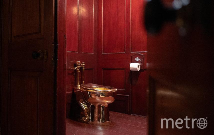 Унитаз был подсоединён к дворцовой системе канализации. Фото Getty