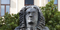 В Санкт-Петербурге открыли памятник Баху