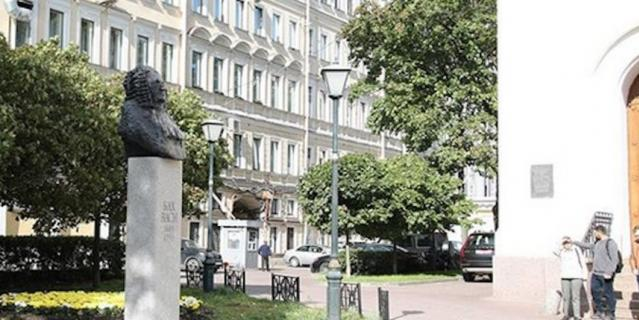 В Санкт-Петербурге открыли памятник композитору Баху.