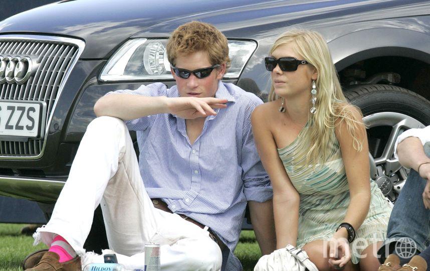 Принц Гарри с девушкой Челси Дэви, 2006 год. Фото Getty