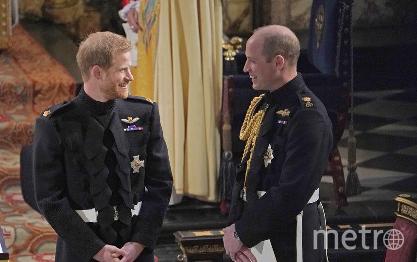 Принц Гарри с братом Уильямом. Фото Getty