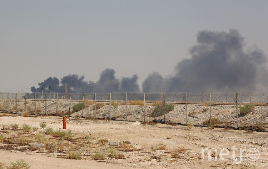 В ночь на субботу два предприятия Saudi Aramco в Саудовской Аравии были атакованы беспилотниками. Фото AFP