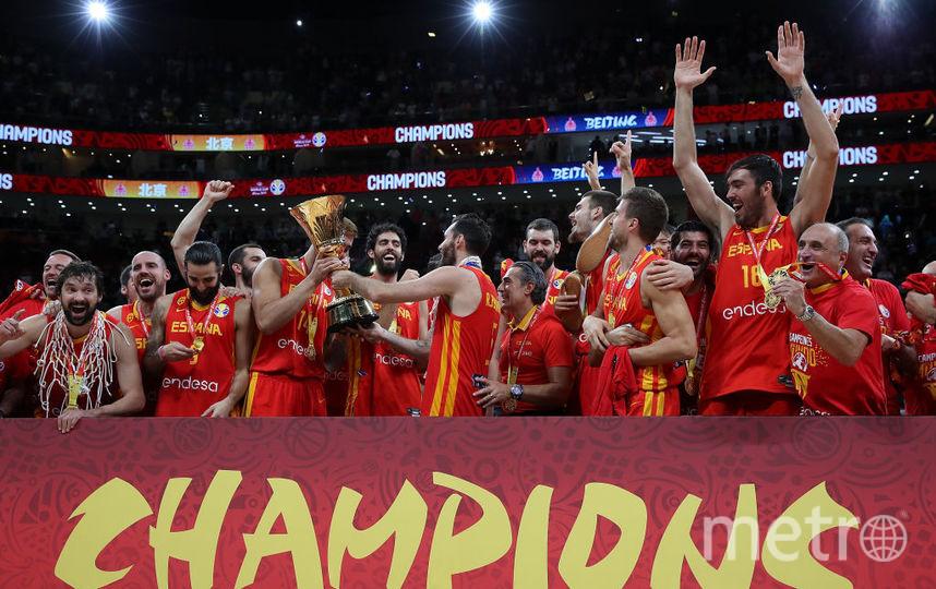Испания выиграла Кубок мира по баскетболу. Фото Getty