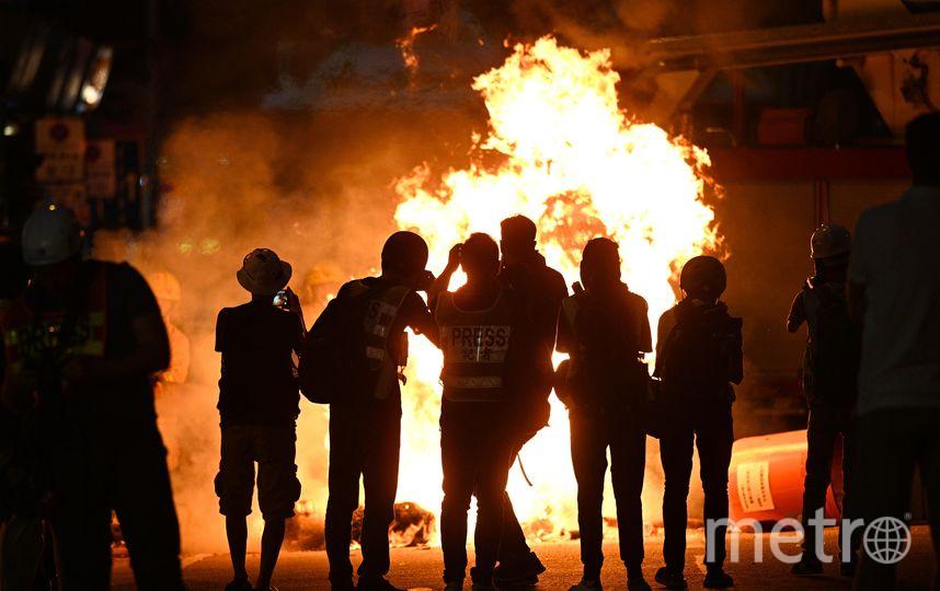 В Гонконге продолжаются масштабные протесты. Фото AFP