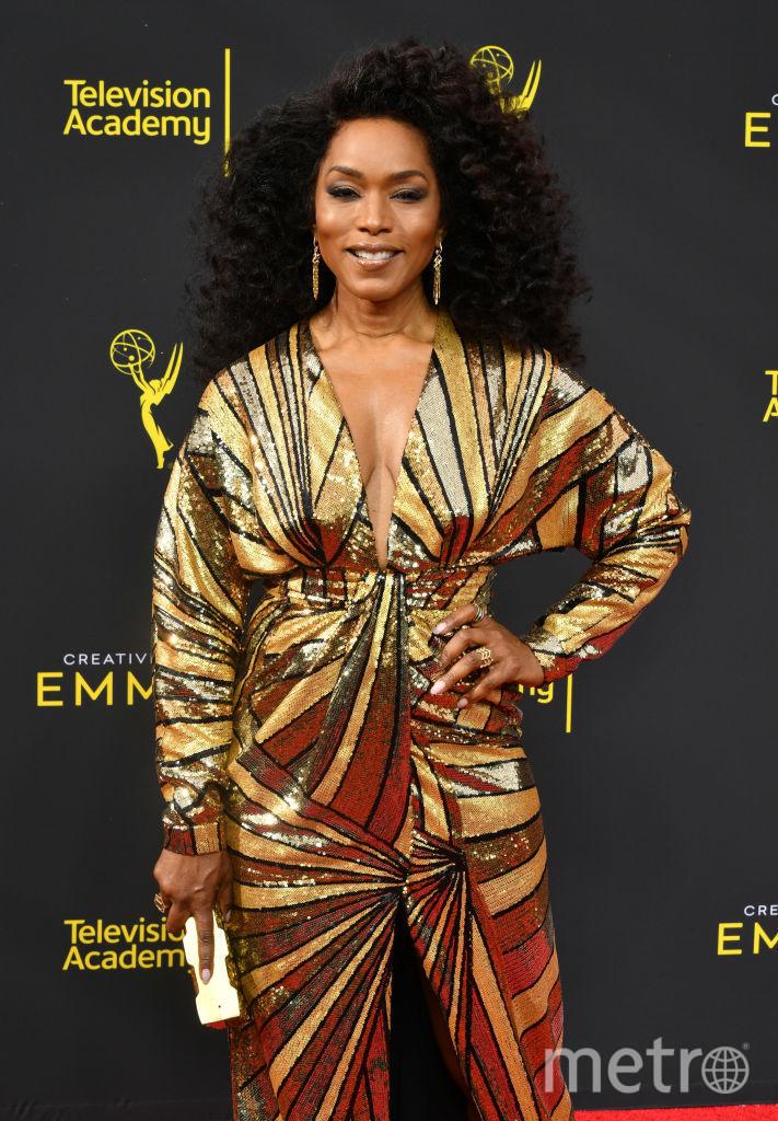 Creative Arts Emmy Awards-2019. Анджела Бассетт. Фото Getty