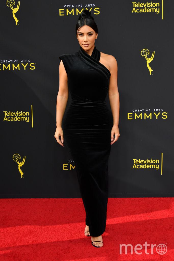 Creative Arts Emmy Awards-2019. Ким Кардашьян. Фото Getty