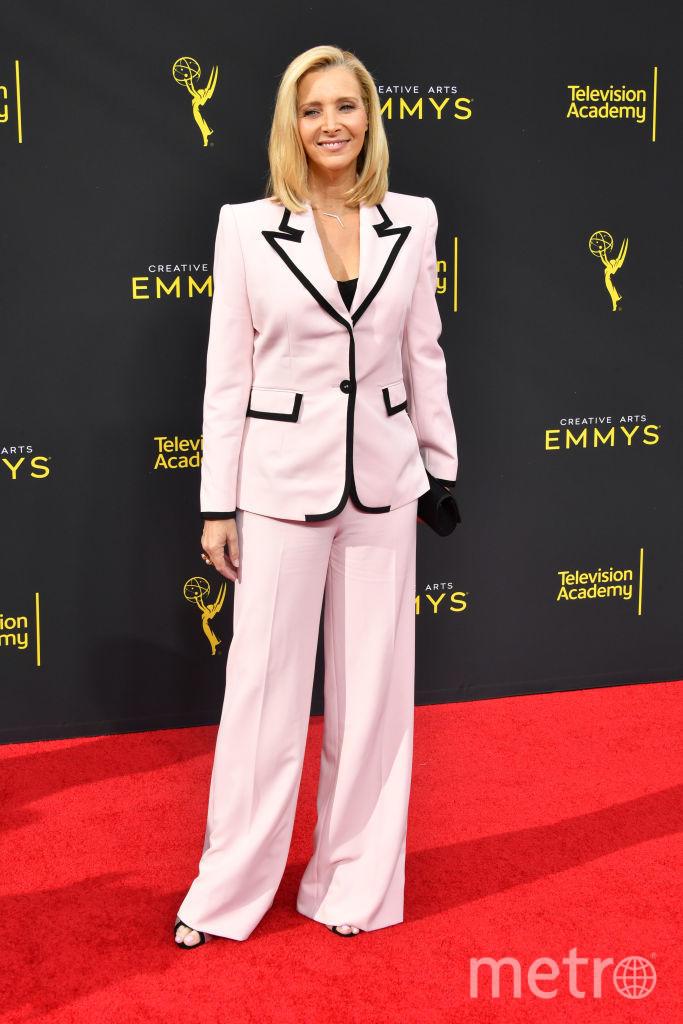 Creative Arts Emmy Awards-2019. Лиза Кудроу. Фото Getty