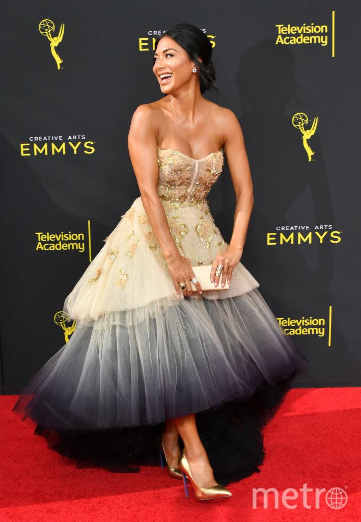 Creative Arts Emmy Awards-2019. Николь Шерзингер. Фото Getty