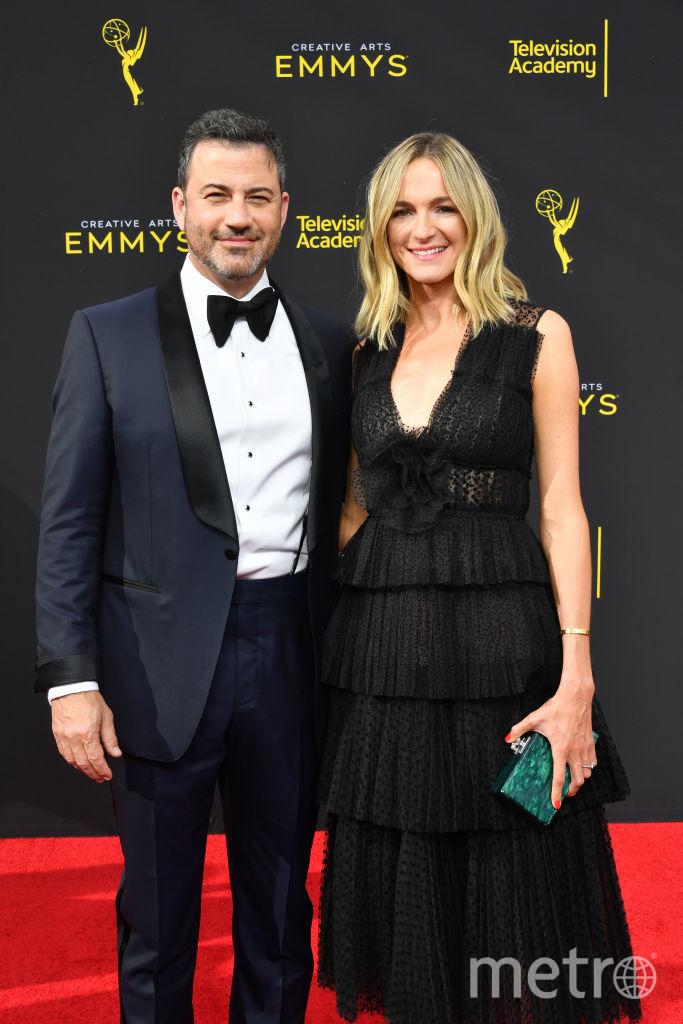 Creative Arts Emmy Awards-2019. Джимми Киммел. Фото Getty