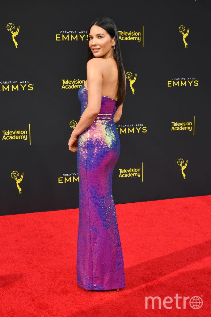 Creative Arts Emmy Awards-2019. Оливия Манн. Фото Getty