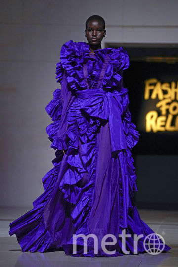 Шоу Fashion For Relief. Фото AFP