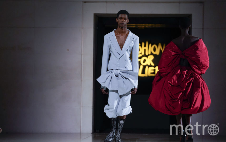 Шоу Fashion For Relief. Фото AFP