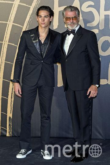 Пэрис и Пирс Броснан. Фото AFP