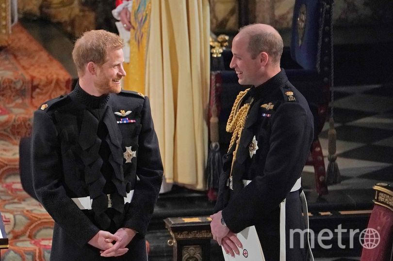 "Принц Уильям на свадьбе младшего брата. Фото https://www.instagram.com/p/B2bEgz2FVHY/, ""Metro"""