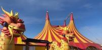 Выгнанный с парковки «Меги» цирк-шапито «поселился» у ТРЦ «Сибирский молл»