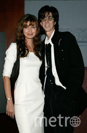 Рик Окасек и его супруга экс-модель Паулина Поризкова, архивное фото 2003 года. Фото Getty