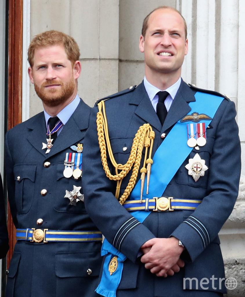 Принц Уильям и принц Гарри. Фото архив, Getty