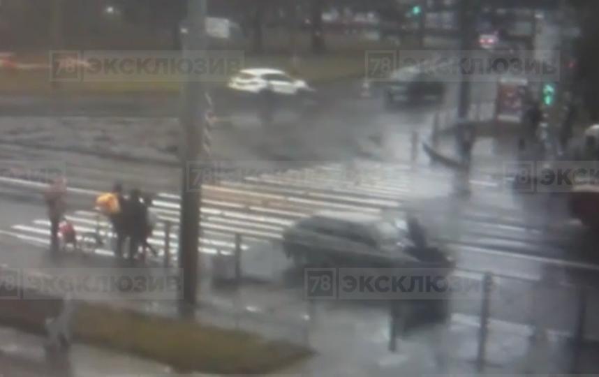 Кадры видео с места происшествия. Фото 78.ru