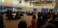 В Петербурге студенты сошлись в политических дебатах