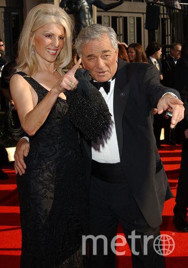 Питер Фальк и его вторая жена Шира. Фото Getty