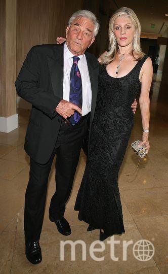 Питер Фальк и его вторая супруга Шира. Фото Getty