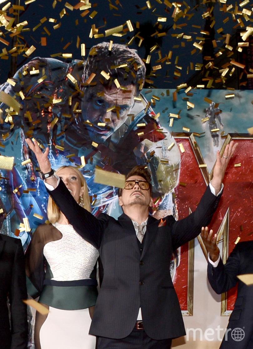 Роберт Дауни-младший - неизменный исполнитель роли Железного Человека. Фото Getty