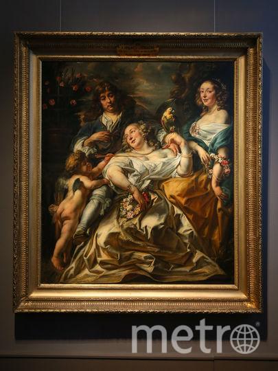 Картина Якоба Йорданса «Аллегорический семейный портрет». Фото Василий Кузьмичёнок