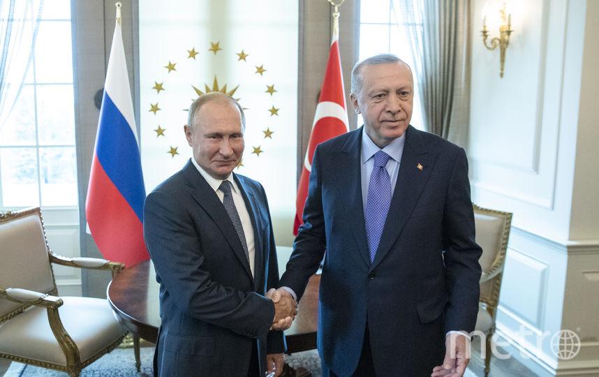 До начала саммита российский лидер провёл две двусторонние встречи, в том числе с Реджепом Эрдоганом. Фото AFP