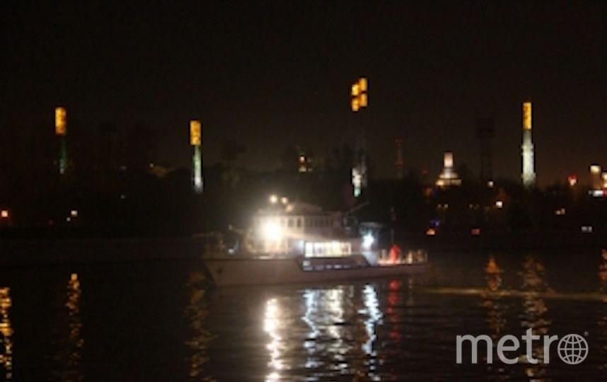 Инцидент произошёл около двух часов ночи 17 сентября. Фото ГУ МЧС РФ по Москве