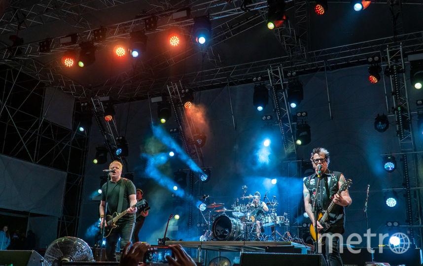 The Offspring в Минске. Фото предоставлено Wargaming.