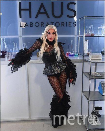 "Леди Гага. Фото https://www.instagram.com/p/B2gNqlbls3R/, ""Metro"""