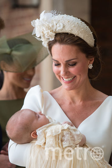 Крестины принца Луи в 2018-м году. Фото Getty