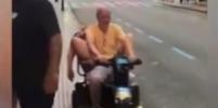 Спящая испанка на скутере стала звездой таблоидов