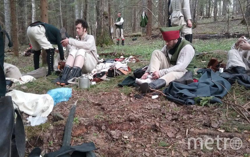 """Летом реконструкторы уже провели тестовый поход. Фото vk.com/suvorov220, """"Metro"""""""