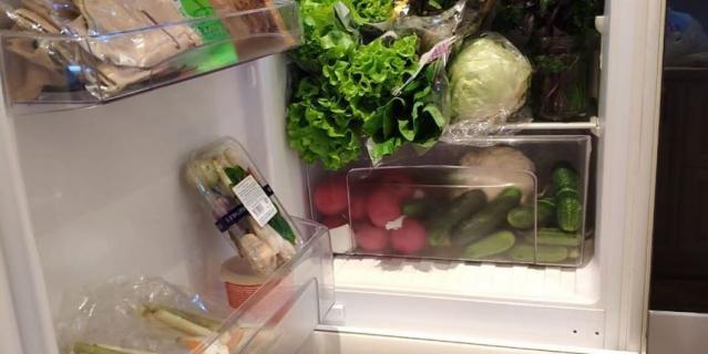 Фото Волочковой. Это холодильник балерины.
